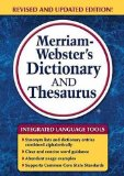Merriam-Webster's Dictionary and Thesaurus   2014 edition cover