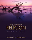Philosophy of Religion: An Anthology  2014 edition cover