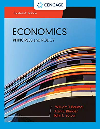 Economics: Principles & Policy  2019 9781337696326 Front Cover