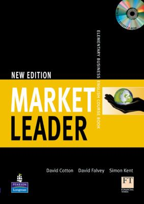Market Leader 1: Elementary Business English Course Book + Self-study Multi-rom  2009 9781405881326 Front Cover