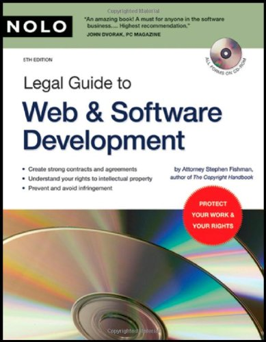 Legal Guide to Web and Software Development  5th 2006 (Revised) edition cover