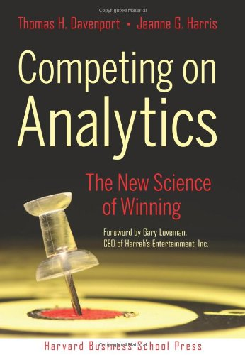Competing on Analytics The New Science of Winning  2007 edition cover