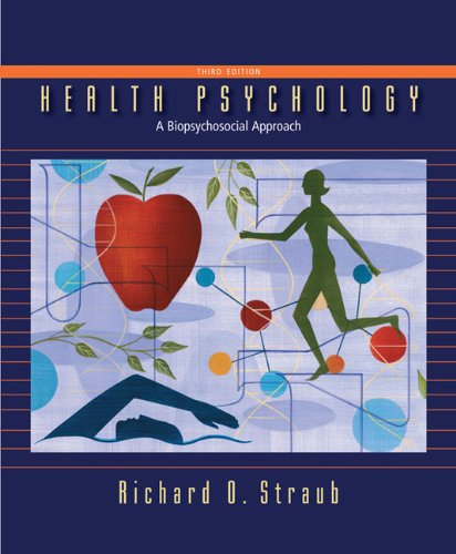 Health Psychology  3rd 2012 (Revised) edition cover