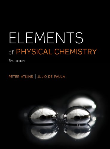 Elements of Physical Chemistry:  6th 2012 edition cover
