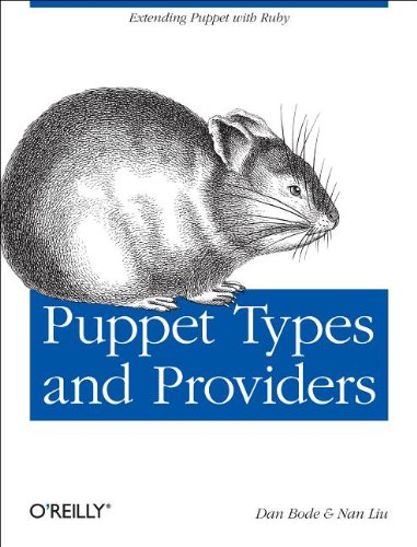 Puppet Types and Providers Extending Puppet with Ruby  2012 9781449339326 Front Cover