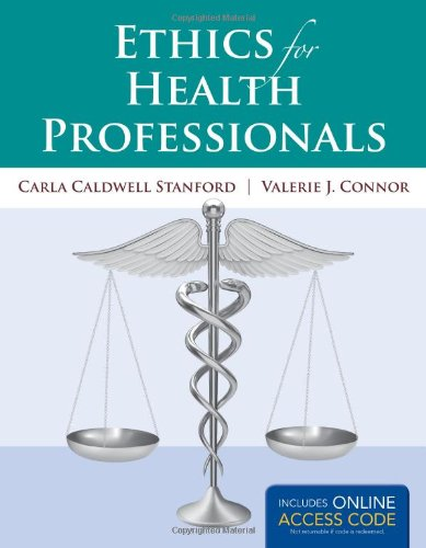 Ethics for Health Professionals (Book)   2014 9781449678326 Front Cover