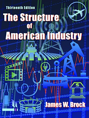 The Structure of American Industry:   2016 edition cover
