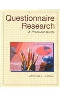 Questionnaire Research-2nd Ed A Practical Guide 2nd 2001 (Revised) edition cover
