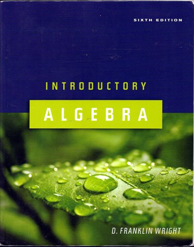 Introductory Algebra 6th ed Text Only Softcover N/A edition cover