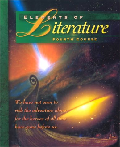 Elements of Literature Fourth Course   1998 9780030968327 Front Cover