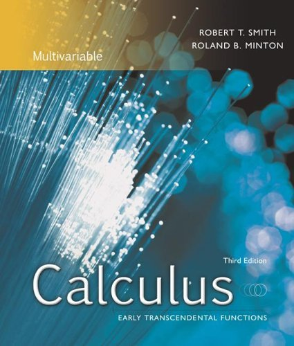 Calculus, Multivariable Early Transcendental Functions with MathZone 3rd 2007 edition cover