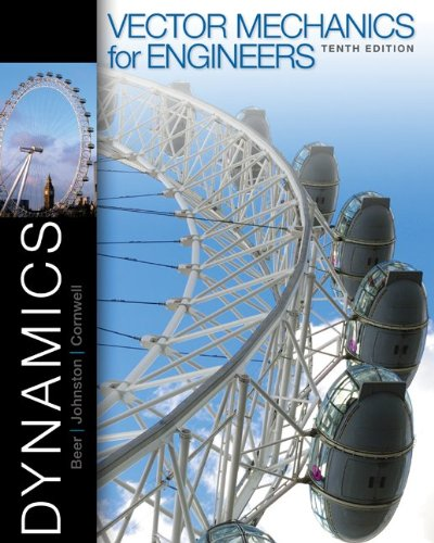 Vector Mechanics for Engineers - Dynamics  10th 2013 edition cover