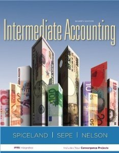 Intermediate Accounting  7th 2013 edition cover