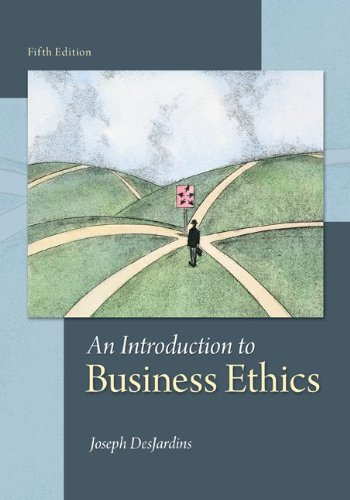 Introduction to Business Ethics  5th 2014 9780078038327 Front Cover