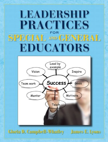 Leadership Practices for Special and General Educators   2013 edition cover