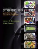 Entrepreneurship and Effective Small Business Management  11th 2015 edition cover