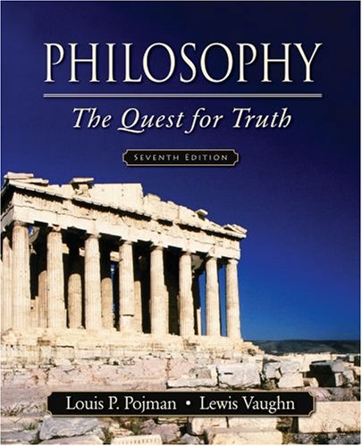 Philosophy The Quest for Truth 7th 2009 edition cover