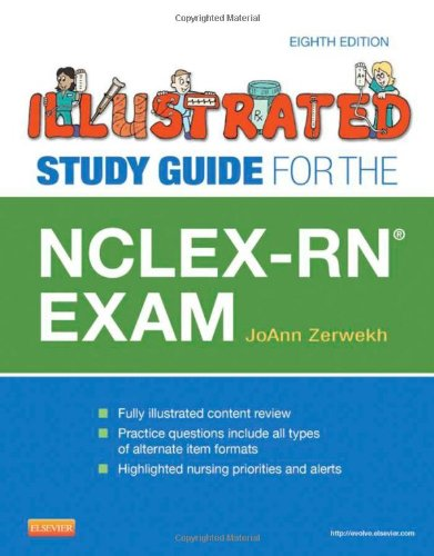 Illustrated Study Guide for the NCLEX-RN� Exam  8th 2013 edition cover