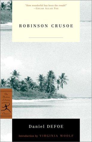 Robinson Crusoe   2001 edition cover