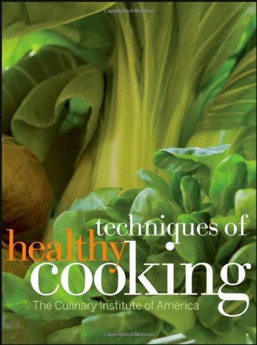 Techniques of Healthy Cooking  3rd 2008 edition cover