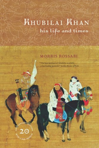 Khubilai Khan His Life and Times 20th 2009 (Anniversary) edition cover