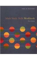 Math Study Skills Workbook 3rd 2007 9780618847327 Front Cover