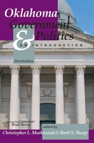 Oklahoma Government and Politics An Introduction 3rd 2005 (Revised) 9780757517327 Front Cover