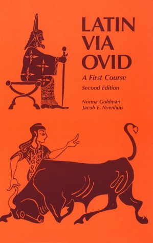 Latin Via Ovid A First Course 2nd 1982 edition cover