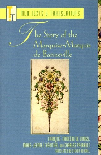 Story of the Marquise-Marquis de Banneville   2004 edition cover