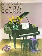 Alfred's Basic Adult Piano Course Lesson Book, Bk 1 Book and CD  1995 edition cover