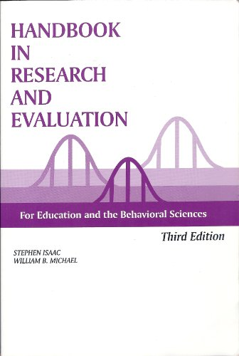Handbook in Research and Evaluation, 3rd Edition 3rd 1999 edition cover
