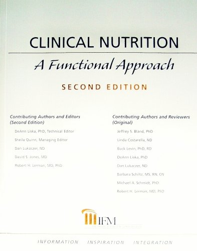 Clinical Nutrition A Functional Approach N/A 9780977371327 Front Cover