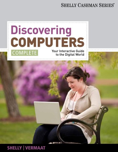 Discovering Computers Complete Your Interactive Guide to the Digital World  2012 edition cover