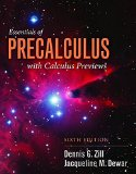 Essentials of Precalculus With Calculus Previews:   2014 9781284056327 Front Cover