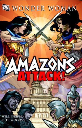 Wonder Woman: Amazons Attack SC   2009 9781401217327 Front Cover