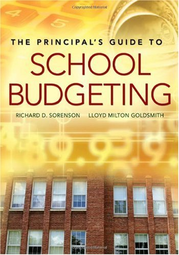 Principal's Guide to School Budgeting  2nd 2006 edition cover