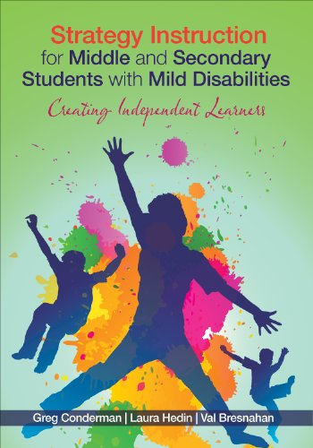 Strategy Instruction for Middle and Secondary Students with Mild Disabilities Creating Independent Learners  2013 edition cover