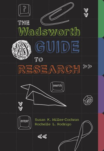 Wadsworth Guide to Research   2009 edition cover