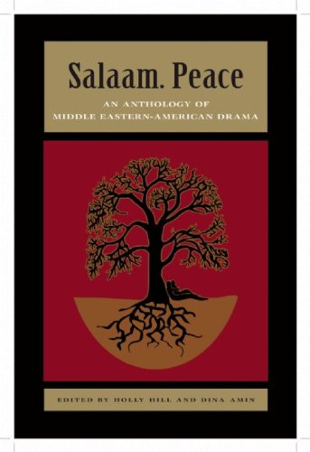 Salaam. Peace An Anthology of Middle Eastern-American Drama  2010 edition cover