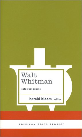 Walt Whitman Selected Poems  2003 9781931082327 Front Cover