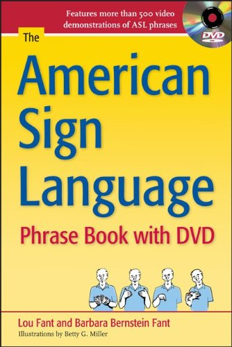American Sign Language Features More Than 500 Video Demonstrations of ASL Phrases 3rd 2011 edition cover