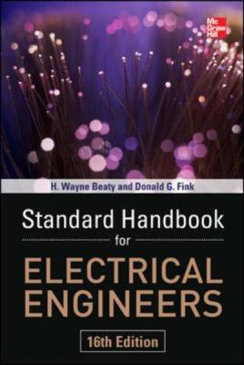 Standard Handbook for Electrical Engineers  16th 2013 edition cover
