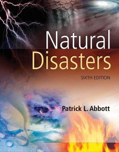 Natural Disasters  6th 2008 (Revised) edition cover