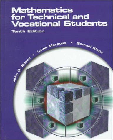 Mathematics for Technical and Vocational Students  10th 2000 (Revised) edition cover