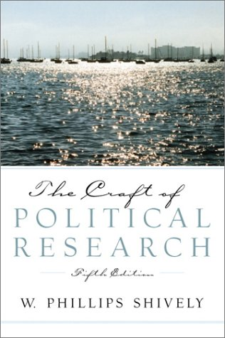 Craft of Political Research  5th 2002 edition cover