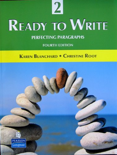 Ready to Write 2 Perfecting Paragraphs 4th 2010 edition cover