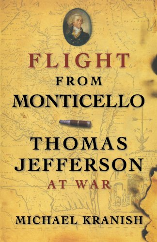 Flight from Monticello Thomas Jefferson at War  2010 edition cover