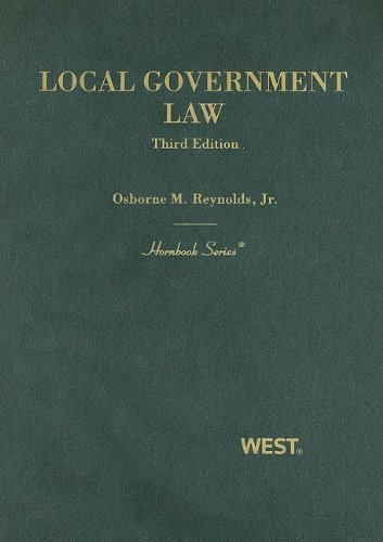 Reynolds' Local Government Law  3rd 2009 (Revised) edition cover