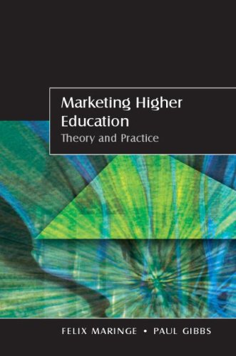 Marketing Higher Education Theory and Practice  2008 9780335220328 Front Cover