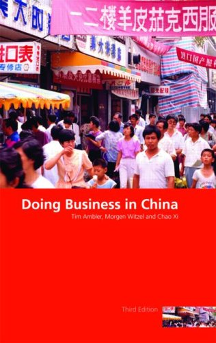 Doing Business in China  3rd 2009 (Revised) edition cover